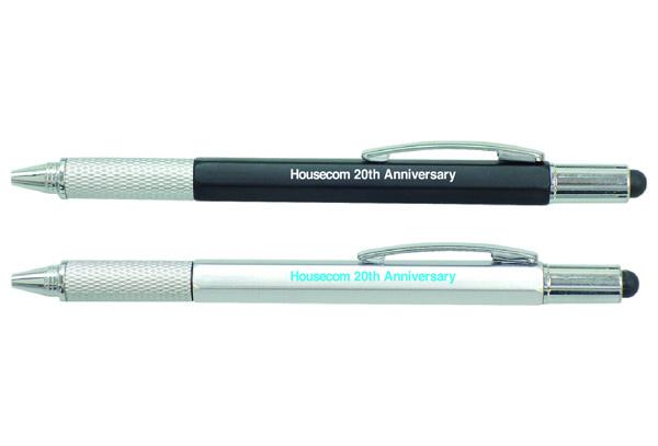 【ノベルティ製作事例004】タッチペン付マルチツールペン